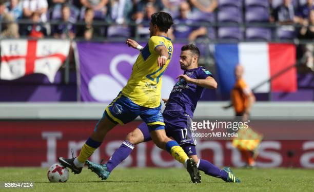 20170820 Brussels Belgium / Rsc Anderlecht v Stvv / 'nJorge TEXEIRA Massimo BRUNO'nFootball Jupiler Pro League 2017 2018 Matchday 4 / 'nPicture by...