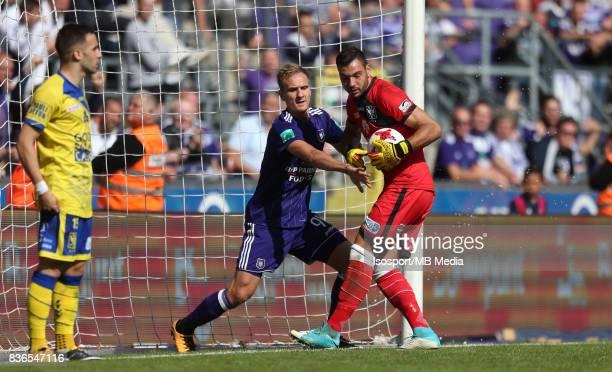 20170820 Brussels Belgium / Rsc Anderlecht v Stvv / 'nLukasz TEODORCZYK Lucas PIRARD'nFootball Jupiler Pro League 2017 2018 Matchday 4 / 'nPicture by...