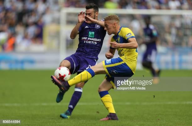 20170820 Brussels Belgium / Rsc Anderlecht v Stvv / 'nMassimo BRUNO Casper DE NORRE'nFootball Jupiler Pro League 2017 2018 Matchday 4 / 'nPicture by...