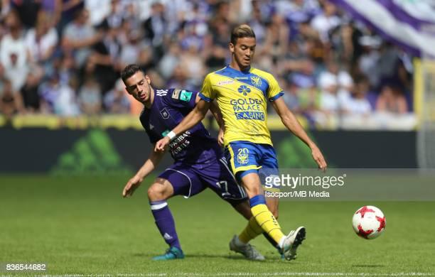 20170820 Brussels Belgium / Rsc Anderlecht v Stvv / 'nMassimo BRUNO Damien DUSSAUT'nFootball Jupiler Pro League 2017 2018 Matchday 4 / 'nPicture by...