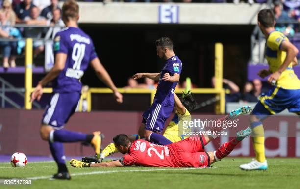 20170820 Brussels Belgium / Rsc Anderlecht v Stvv / 'nMassimo BRUNO Lucas PIRARD'nFootball Jupiler Pro League 2017 2018 Matchday 4 / 'nPicture by...