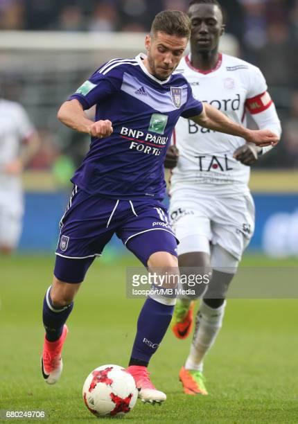 20170507 Brussels Belgium / Rsc Anderlecht v Zulte Waregem 'nAlexandru CHIPCIU'nJupiler Pro League PlayOff 1 Matchday 7 at the Constant Vanden Stock...