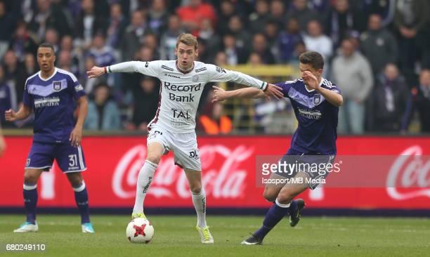 20170507 Brussels Belgium / Rsc Anderlecht v Zulte Waregem 'nSander COOPMAN Leander DENDONCKER'nJupiler Pro League PlayOff 1 Matchday 7 at the...