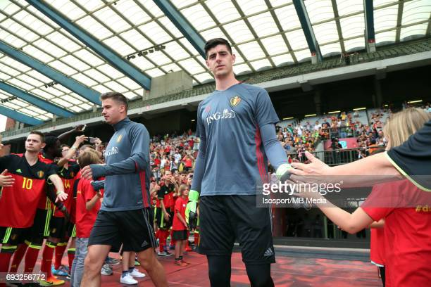 20170603 Brussels Belgium / Training and Family Day Red Devils /'nLeander DENDONCKER Thibaut COURTOIS'nPicture Vincent Van Doornick / Isosport