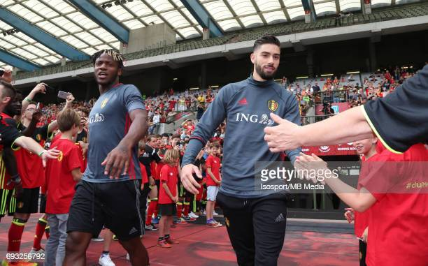 20170603 Brussels Belgium / Training and Family Day Red Devils /'nMichy BATSHUAYI Yannick CARRASCO'nPicture Vincent Van Doornick / Isosport