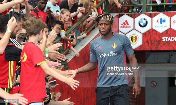 20170603 Brussels Belgium / Training and Family Day Red Devils /'nMichy BATSHUAYI'nPicture Vincent Van Doornick / Isosport