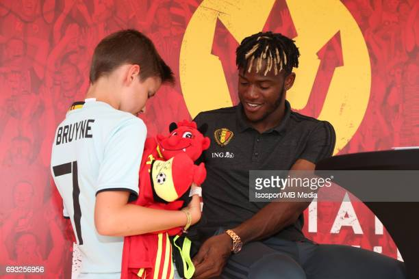 20170603 Brussels Belgium / Training and Family Day Red Devils /'nSigning session'nMichy BATSHUAYI'nPicture Vincent Van Doornick / Isosport
