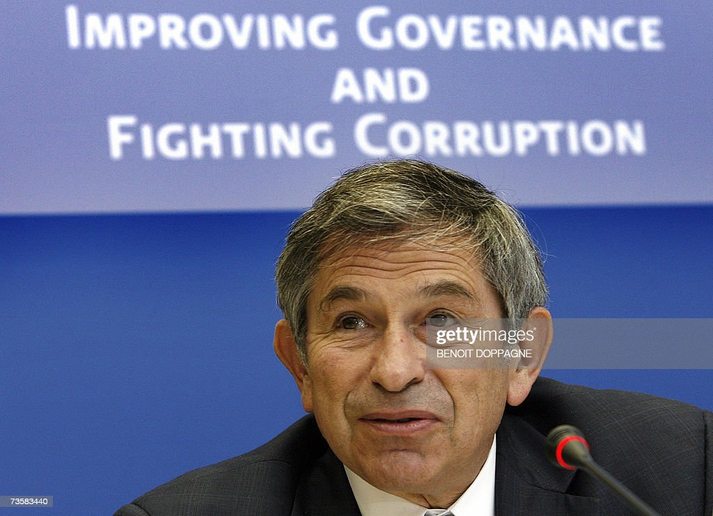 World Bank President Paul Wolfowitz attendS the International conference 'Improving Governance and Fighting Corruption New Frontiers in PublicPrivate...