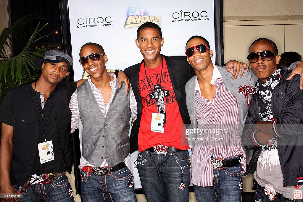 Brutha arrives at the 2008 BET Awards after party held at the The Roosevelt Hotel on June 24, 2008 in Hollywood, California.