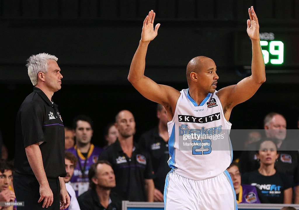 NBL Semi Final - Sydney v New Zealand: Game 2