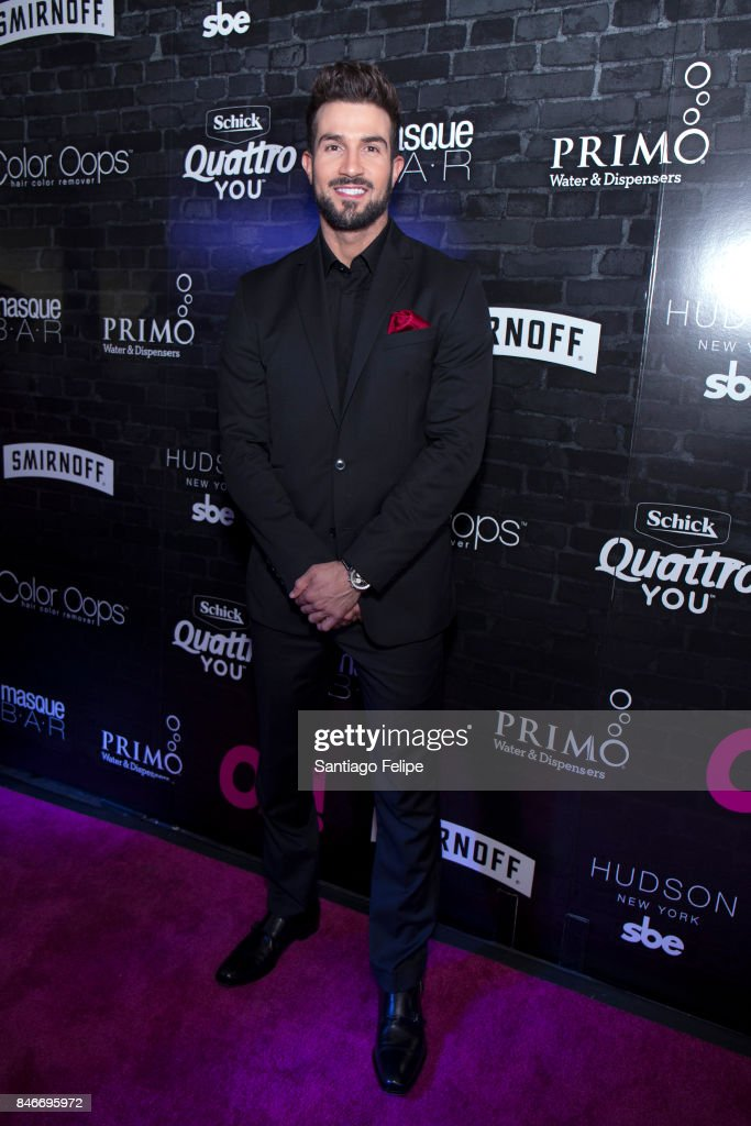 Bryan Abasolo of 'The Bachelorette' attends OK! Magazine's Fall Fashion Week 2017 Event at Hudson Hotel on September 13, 2017 in New York City.