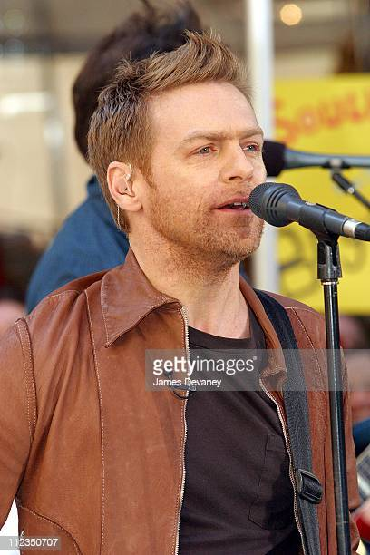 Bryan Adams during Bryan Adams Performs on 'The Today Show' Summer Concert Series May 24 2002 at NBC Studios in New York City New York United States