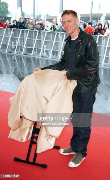 Bryan Adams during Bryan Adams Wembley Walk of Fame Photocall May 10 2007 in London Great Britain