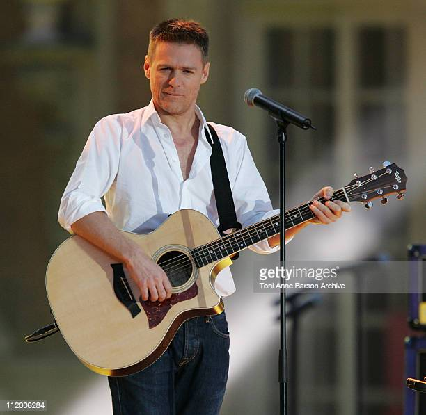 Bryan Adams during Fete de la Musique on 'France 2' Live Show / Music Day in Versailles at Chateau de Versailles in Versailles France