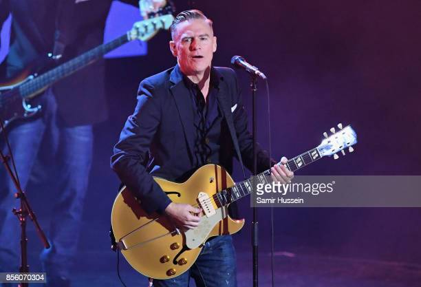 Bryan Adams performs on day 8 of the Invictus Games Toronto 2017 on September 30 2017 in Toronto Canada The Games use the power of sport to inspire...
