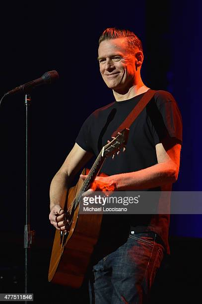 Bryan Adams performs onstage at the 2015 Fragrance Foundation Awards at Alice Tully Hall at Lincoln Center on June 17 2015 in New York City