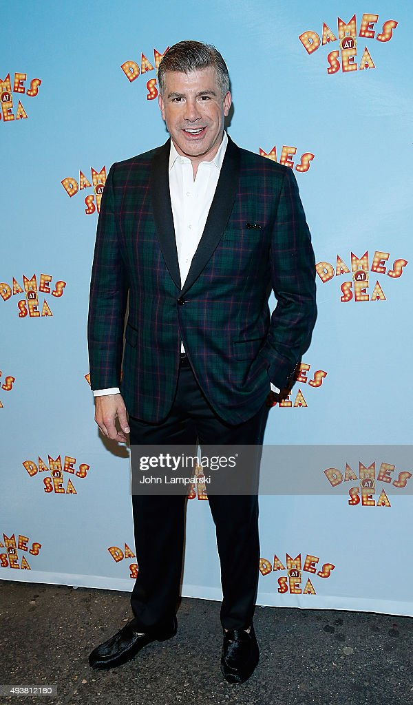 Bryan Batt attends Dames At Sea' Opening Night at Helen Hayes Theatre on October 22 2015 in New York City