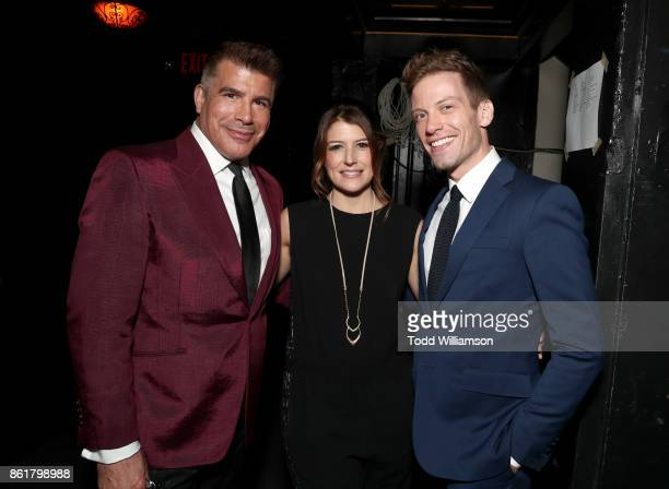 Bryan Batt Nicole Parker and Barrett Foa attend National Breast Cancer Coalition Fund's 17th Annual Les Girls Cabaret at Avalon Hollywood on October...