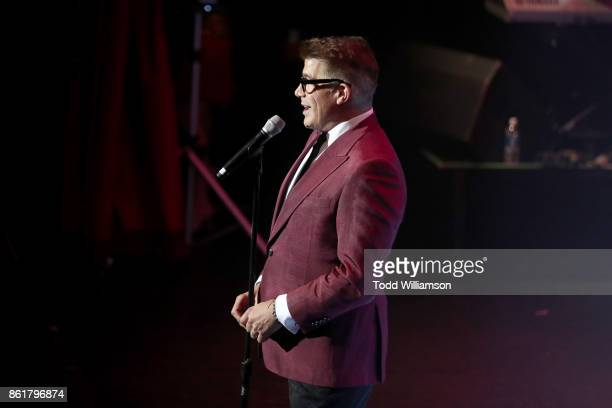Bryan Batt performs onstage at National Breast Cancer Coalition Fund's 17th Annual Les Girls Cabaret at Avalon Hollywood on October 15 2017 in Los...