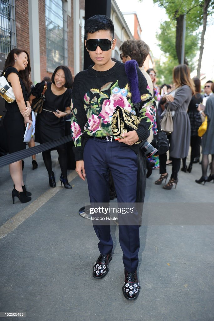 Fendi - Arrivals - Milan Fashion Week Womenswear S/S 2013
