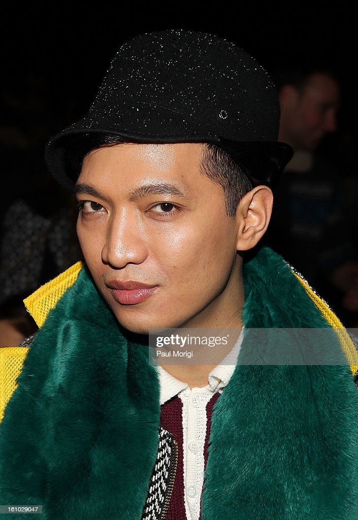 Bryan Boy attends Rag & Bone Women's Collection during Fall 2013 Mercedes-Benz Fashion Week at Skylight Studios at Moynihan Station on February 8, 2013 in New York City.