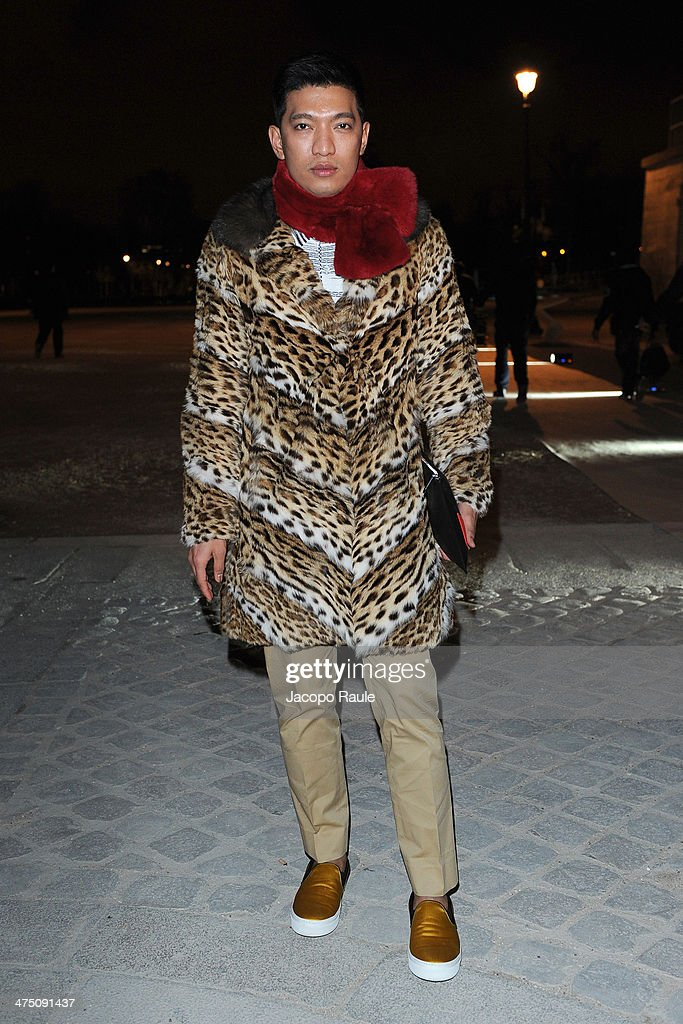 Bryan Boy attends the Vionnet show as part of the Paris Fashion Week Womenswear Fall/Winter 2014-2015 on February 26, 2014 in Paris, France.