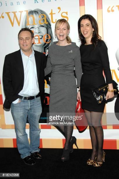 Bryan Burk Sherryl Clark and Aline Brosh McKenna attend WORLD PREMIERE of MORNING GLORY at Clearview Cinemas' Ziegfeld on November 7 2010 in New York...