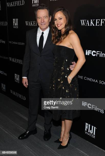 Bryan Cranston and Jennifer Garner attend a special screening of 'Wakefield' hosted by FIJI Water and the Cinema Society at Landmark Sunshine Cinema...