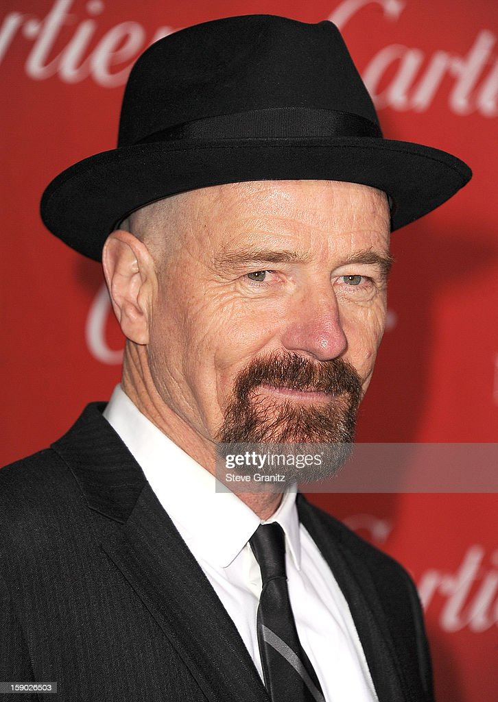 Bryan Cranston arrives at the 24th Annual Palm Springs International Film Festival at Palm Springs Convention Center on January 5, 2013 in Palm Springs, California.