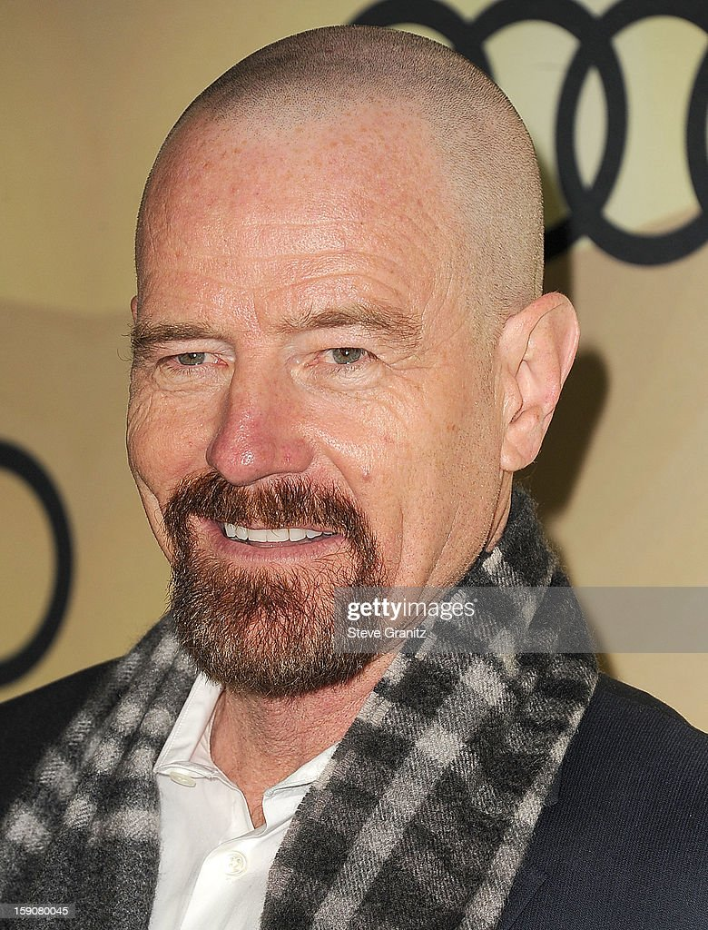 <a gi-track='captionPersonalityLinkClicked' href=/galleries/search?phrase=Bryan+Cranston&family=editorial&specificpeople=217768 ng-click='$event.stopPropagation()'>Bryan Cranston</a> arrives at the Audi Golden Globe 2013 Kick Off Cocktail Party at Cecconi's Restaurant on January 6, 2013 in Los Angeles, California.