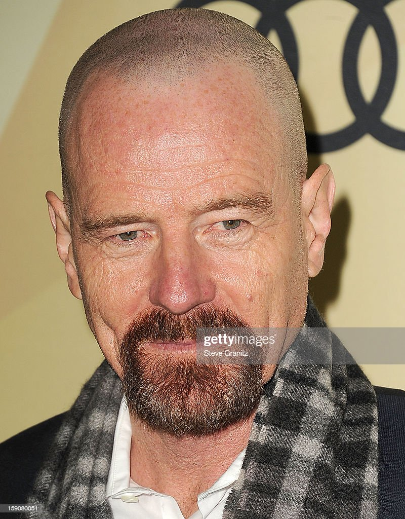 Bryan Cranston arrives at the Audi Golden Globe 2013 Kick Off Cocktail Party at Cecconi's Restaurant on January 6, 2013 in Los Angeles, California.
