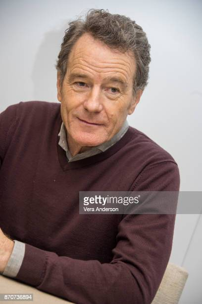 Bryan Cranston at the 'Last Flag Flying' Press Conference at The Rosewood Hotel on November 4 2017 in London England