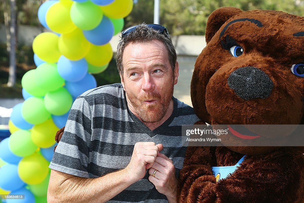 Bryan Cranston at UCLA's Lymphoma Program 'A Celebration Of Survivorship On Track For A Cure' held at UCLA's Drake Stadium on October 7 2012 in...