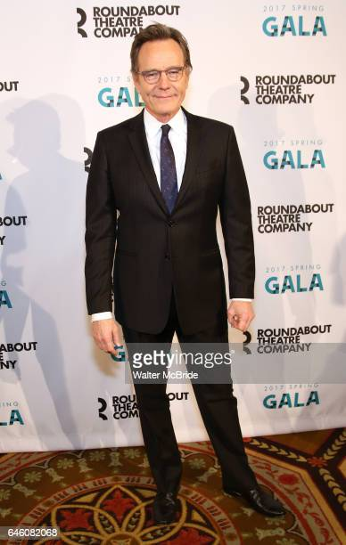 Bryan Cranston attend the Roundabout Theatre Company's 2017 Spring Gala 'Act ii Setting the Stage for Roundabout's Future' at the Waldorf Astoria...