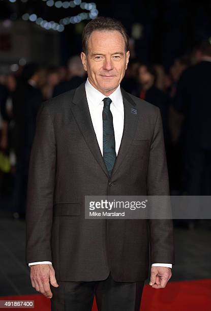 Bryan Cranston attends a screening of 'Trumbo' during the BFI London Film Festival at Odeon Leicester Square on October 8 2015 in London England