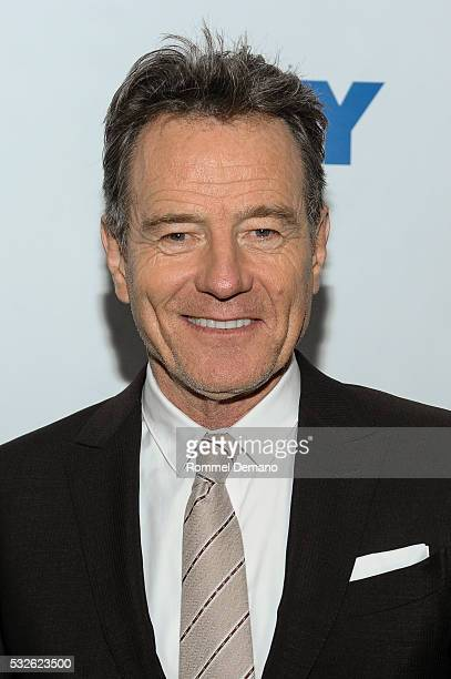 Bryan Cranston attends Bryan Cranston and 'All The Way' at 92nd Street Y on May 18 2016 in New York City