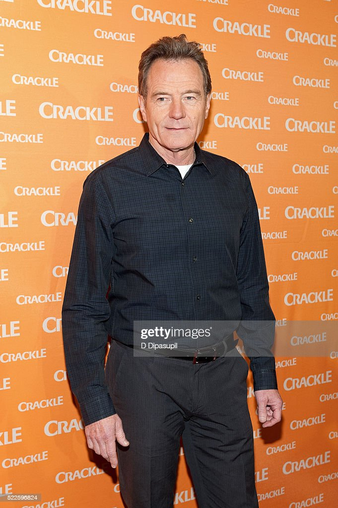Bryan Cranston attends Crackle's 2016 Upfront Presentation at New York City Center on April 20 2016 in New York City