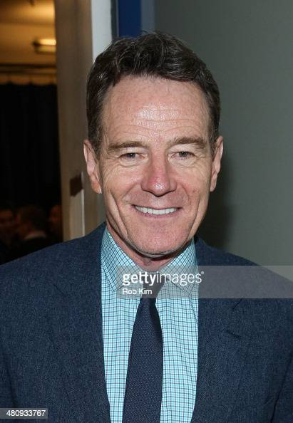 Bryan Cranston attends 'Finding Neverland' Workshop Presentation at New 42 Studios on March 27 2014 in New York City