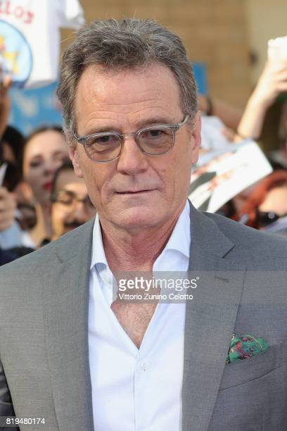 Bryan Cranston attends Giffoni Film Festival 2017 bleu carpet on July 20 2017 in Giffoni Valle Piana Italy