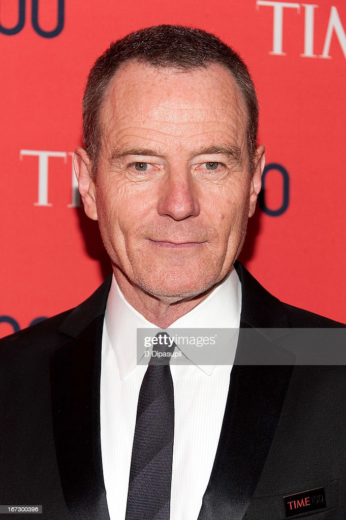 <a gi-track='captionPersonalityLinkClicked' href=/galleries/search?phrase=Bryan+Cranston&family=editorial&specificpeople=217768 ng-click='$event.stopPropagation()'>Bryan Cranston</a> attends the 2013 Time 100 Gala at Frederick P. Rose Hall, Jazz at Lincoln Center on April 23, 2013 in New York City.