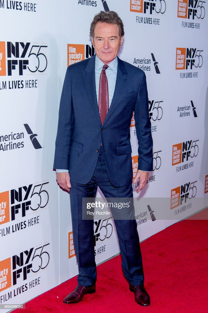 Bryan Cranston attends the 55th New York Film Festival - Opening Night Premiere Of 'Last Flag Flying' at Alice Tully Hall, Lincoln Center on September 28, 2017 in New York City.