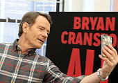 Bryan Cranston attends the 'All The Way' cast press preview at The Roundabout Rehearsal Space on January 22 2014 in New York City
