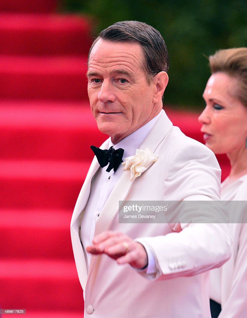 Bryan Cranston attends the 'Charles James: Beyond Fashion' Costume Institute Gala at the Metropolitan Museum of Art on May 5, 2014 in New York City.