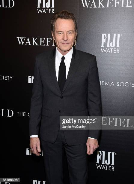 Bryan Cranston attends The Cinema Society Hosts A Screening Of IFC Films' 'Wakefield' at Landmark Sunshine Cinema on May 18 2017 in New York City