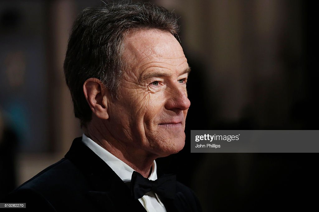 Bryan Cranston attends the EE British Academy Film Awards at The Royal Opera House on February 14, 2016 in London, England.