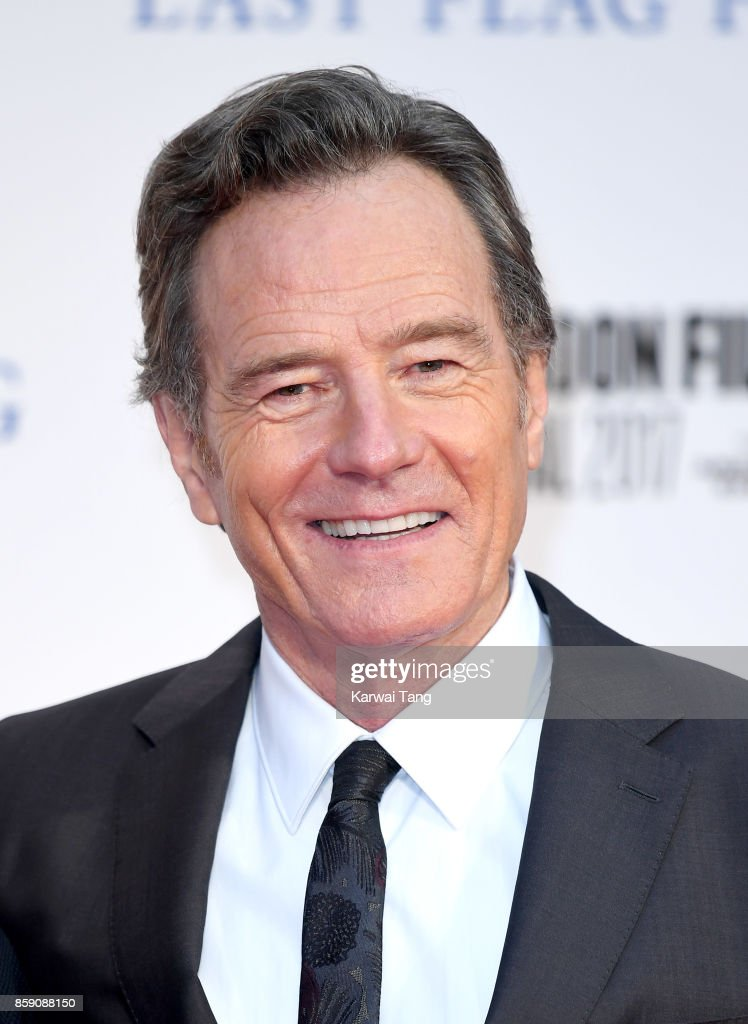 Bryan Cranston attends the Headline Gala Screening & International Premiere of 'Last Flag Flying' during the 61st BFI London Film Festival at Odeon Leicester Square on October 8, 2017 in London, England.
