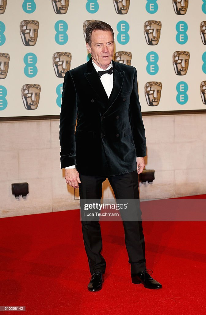 <a gi-track='captionPersonalityLinkClicked' href=/galleries/search?phrase=Bryan+Cranston&family=editorial&specificpeople=217768 ng-click='$event.stopPropagation()'>Bryan Cranston</a> attends the official After Party Dinner for the EE British Academy Film Awards at The Grosvenor House Hotel on February 14, 2016 in London, England.