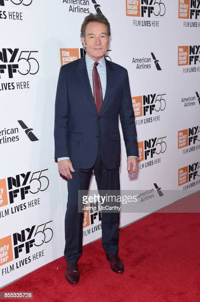 Bryan Cranston attends the opening night premiere of 'Last Flag Flying' during the 55th New York Film Festival at Alice Tully Hall Lincoln Center on...