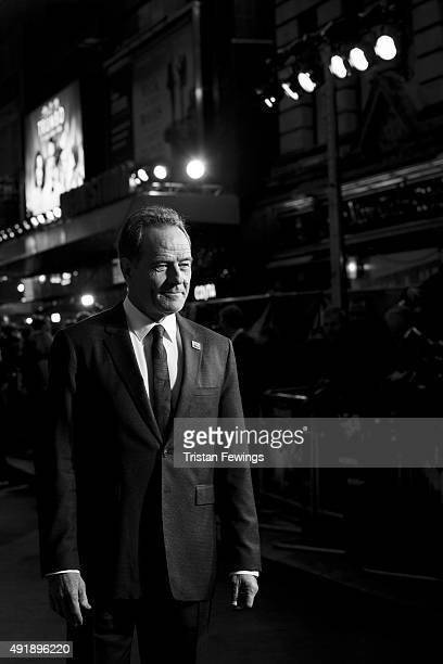 Bryan Cranston attends the 'Trumbo' premiere during the London Film Festival at the Odeon Leicester Square on October 8 2015 in London England