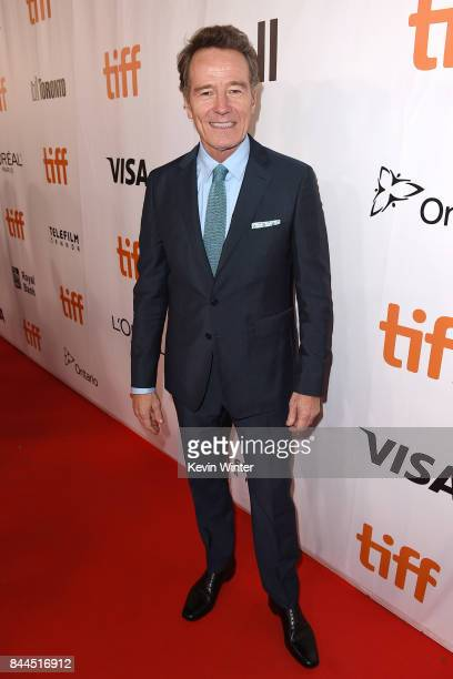 Bryan Cranston attends 'The Upside' premiere during the 2017 Toronto International Film Festival at Roy Thomson Hall on September 8 2017 in Toronto...
